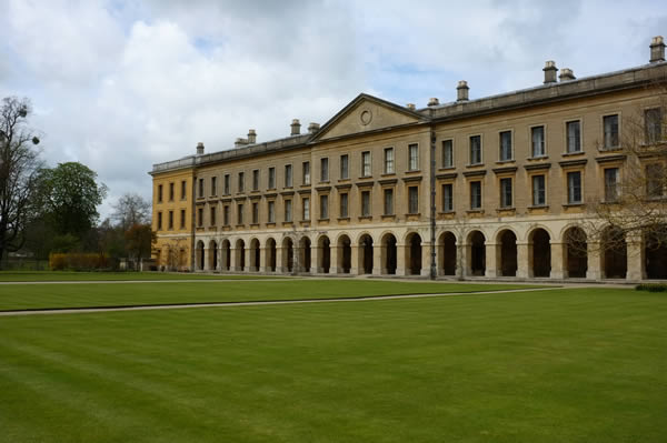Magdalen College in Oxford, England